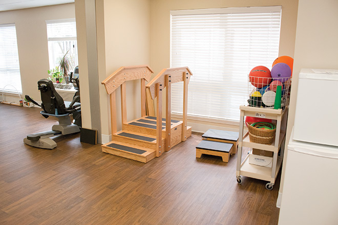 Brookdale Prospect Heights  Skilled Nursing Therapy Room