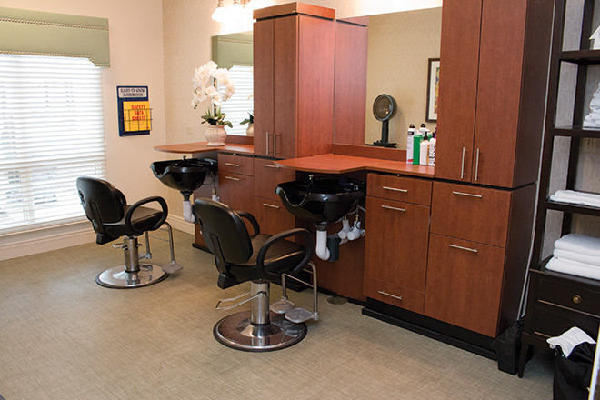 Brookdale Prospect Heights Skilled Nursing Salon