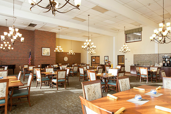 Brookdale Puyallup Dining Room