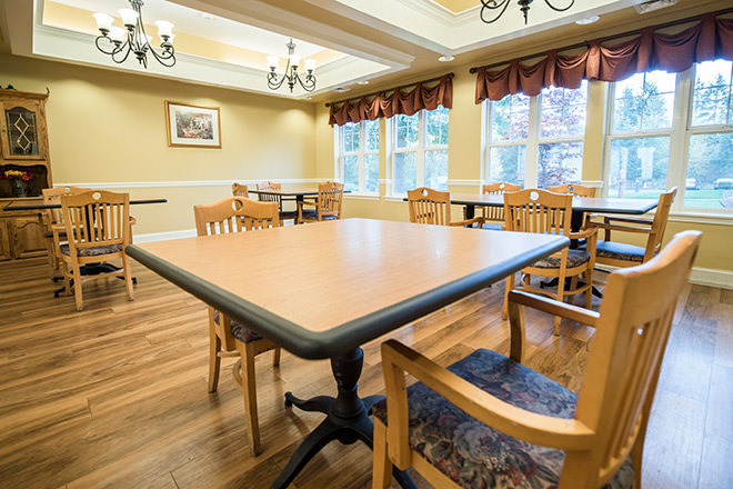 Brookdale Puyallup South Dining Room