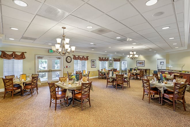 Brookdale Rancho Mirage  Dining Room