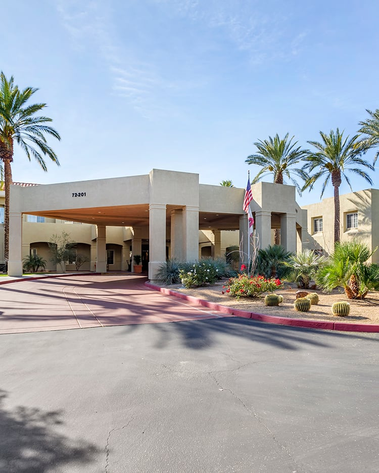 Senior living in Palm Springs CA