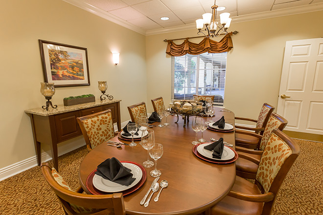 Brookdale Rancho Mirage Skilled Nursing Private Dining
