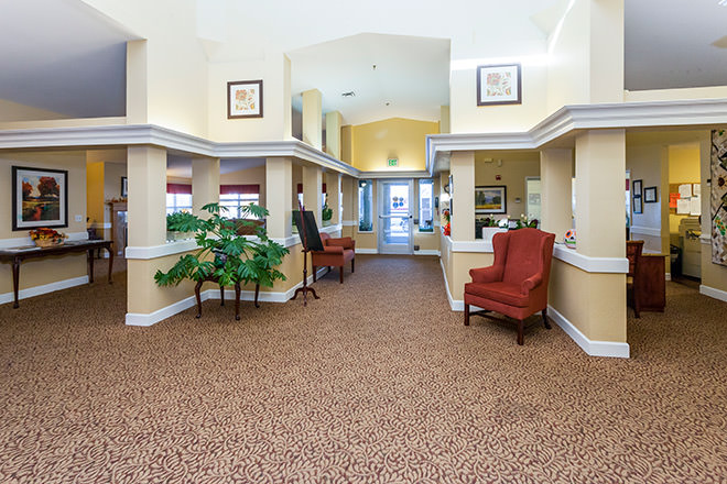 Brookdale Red Bluff Foyer