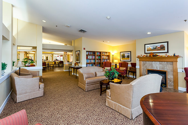 Brookdale Red Bluff Community Living Room
