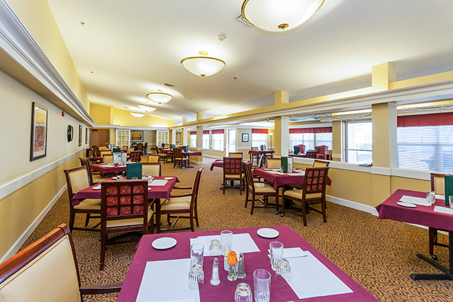 Brookdale Red Bluff Dining Room