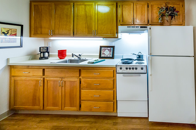 Brookdale Redwood City Kitchen Area