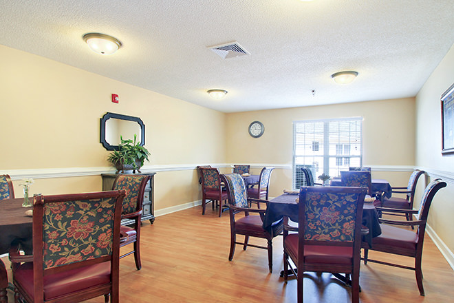 Brookdale Reidsville Dining Room