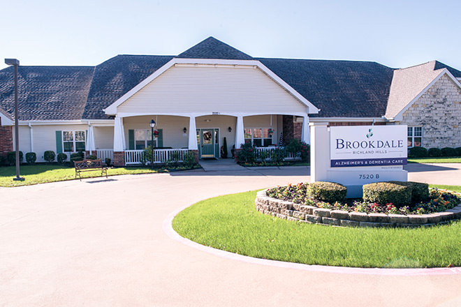 Brookdale Richland Hills Entrance