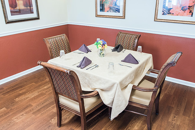 Brookdale Richland Hills Dining Room