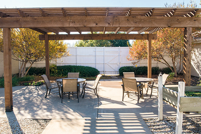 Brookdale Richland Hills Patio