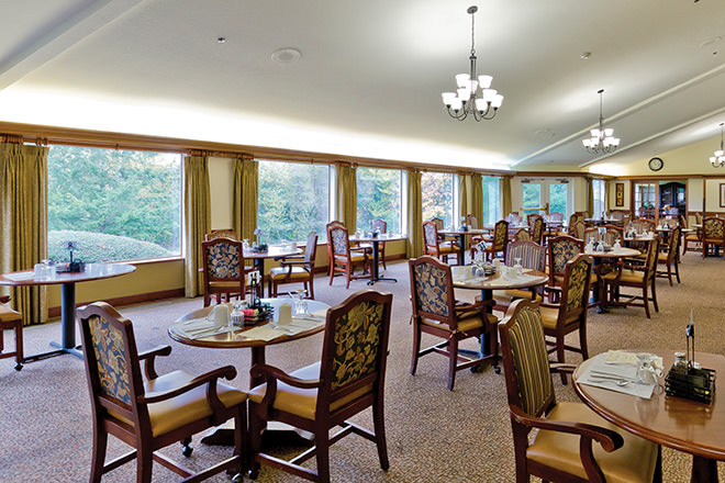 Brookdale River Valley Tualatin Dining Room