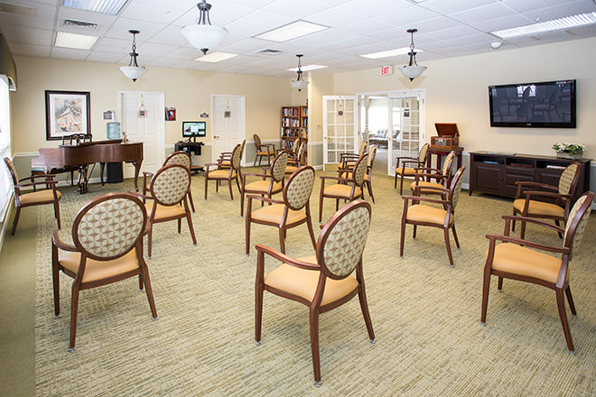 Brookdale Roanoke Activity Room