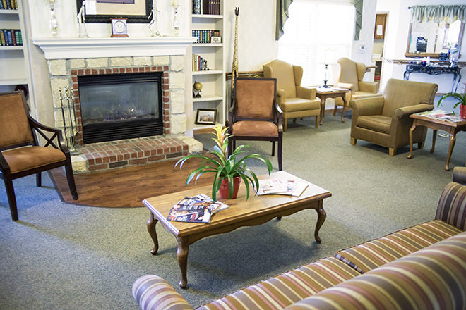 Brookdale Rocky Mount Community Living Room