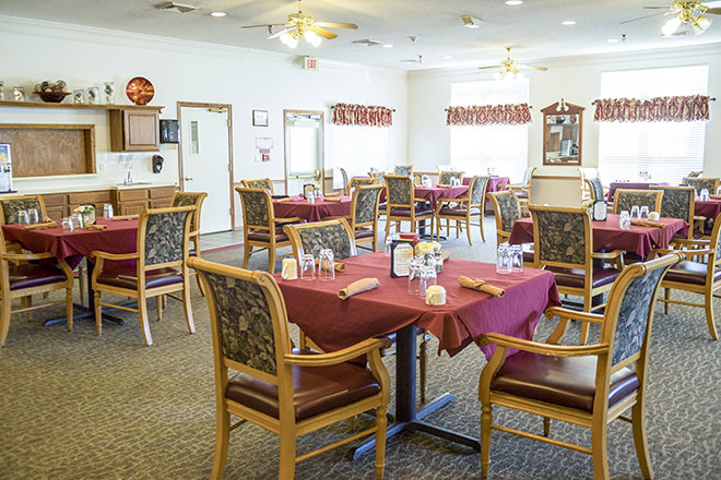 Brookdale Rocky Mount Dining Room