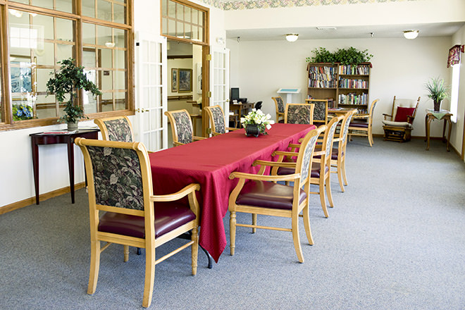 Brookdale Rocky Mount Private Dining Room