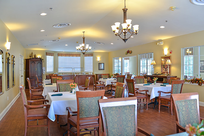 Brookdale Rome Dining Room
