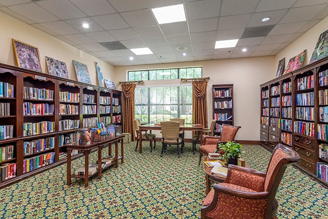 Brookdale Chambrel Roswell Library
