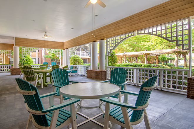 Brookdale Chambrel Roswell Porch