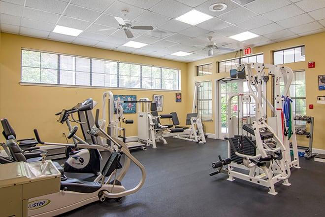 Brookdale Chambrel Roswell Fitness Room