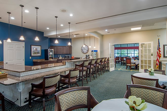 Brookdale Chambrel Roswell Kitchen & Dining Room