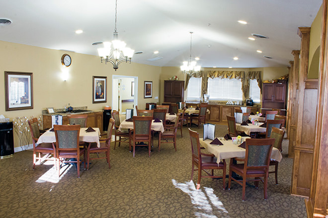 Brookdale Round Rock Dining Room