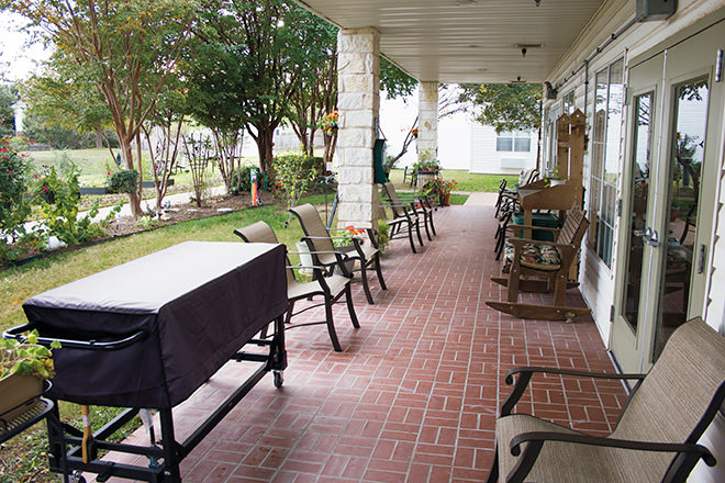 Brookdale Round Rock Patio