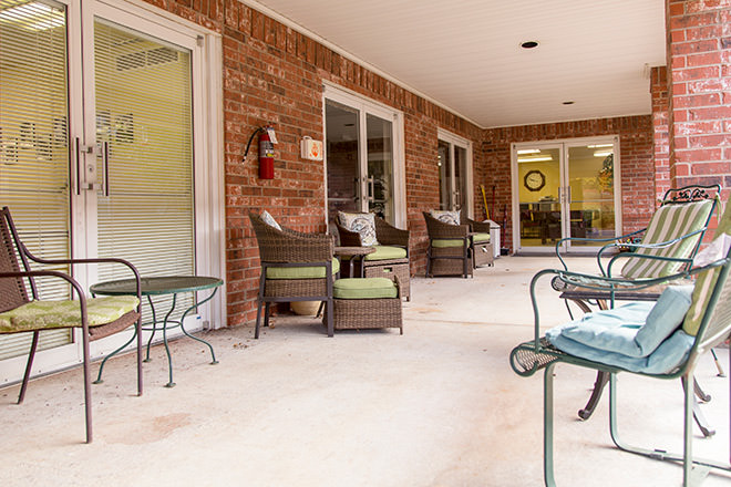 Brookdale Russellville Patio