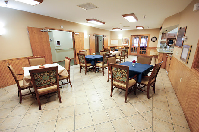 Brookdale Saginaw Dining Room