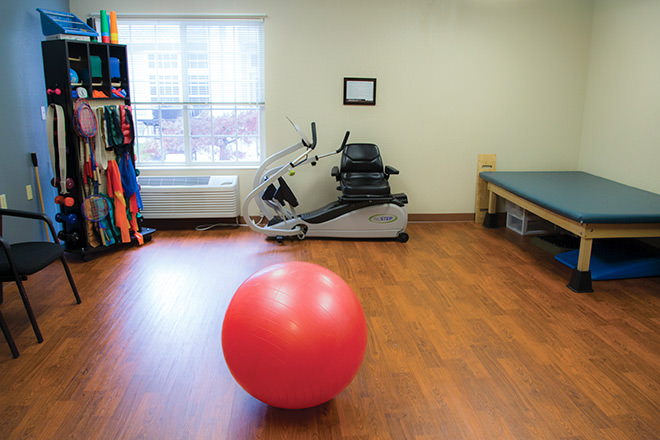 Brookdale Salem Fitness Room