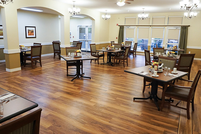 Brookdale Salinas Dining Room