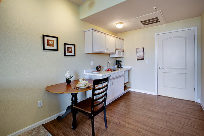 Brookdale Salinas Kitchen Area