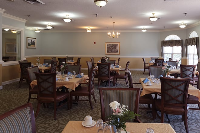 Brookdale Salisbury  Dining Room