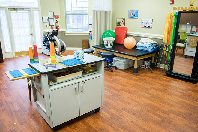 Brookdale Salisbury  Fitness Room