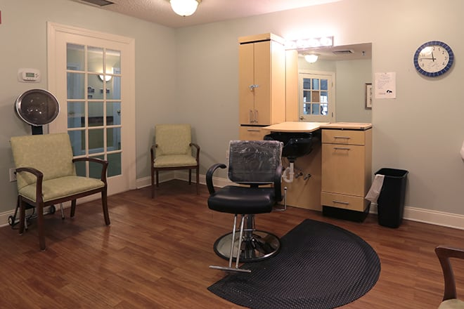 Brookdale Salisbury  Salon