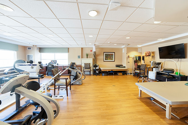 Brookdale Salt Lake City  Fitness Room