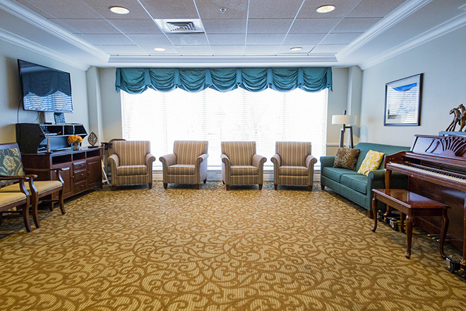 Brookdale Salt Lake City Skilled Nursing Living Room