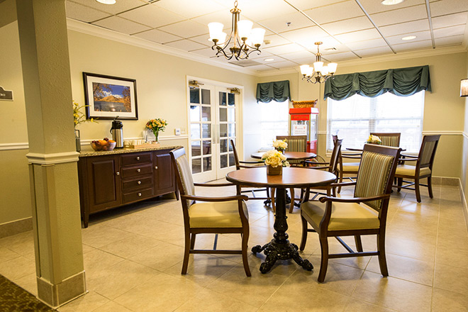 Brookdale Salt Lake City Skilled Nursing Dining Room