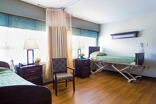 Brookdale Salt Lake City Skilled Nursing Bedroom