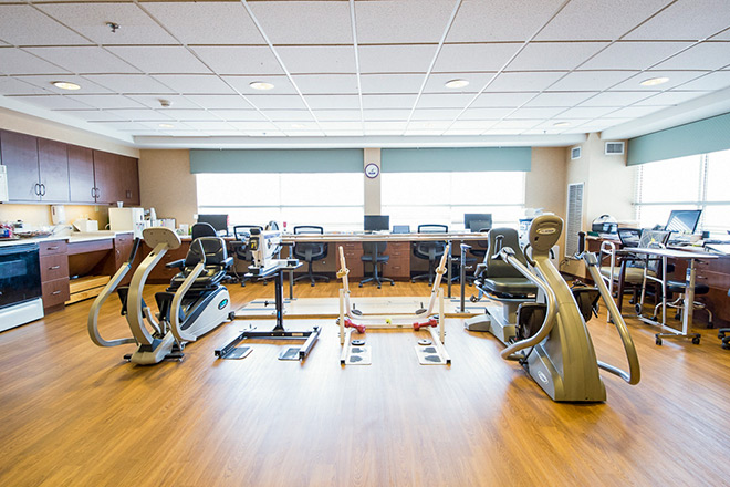 Brookdale Salt Lake City Skilled Nursing Therapy Room