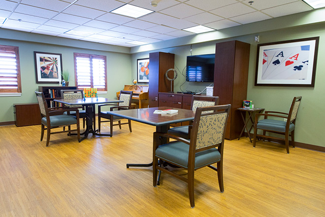 Brookdale Salt Lake City Skilled Nursing Activity Room
