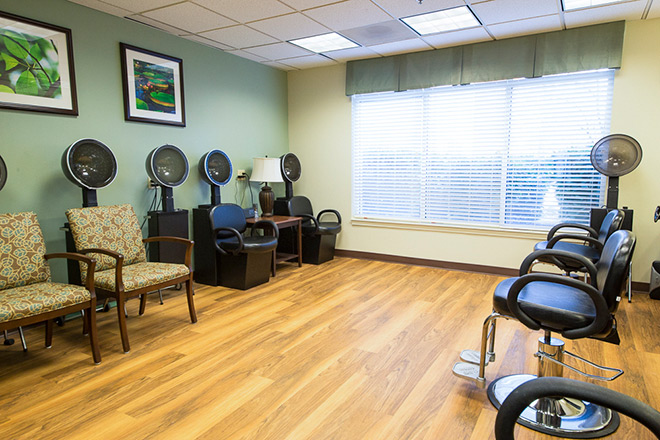 Brookdale Salt Lake City Skilled Nursing Salon