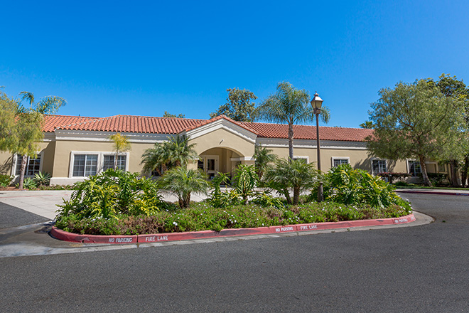 Brookdale San Juan Capistrano Skilled Nursing Community Entrance