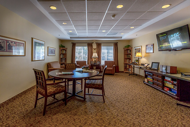 Brookdale San Juan Capistrano Skilled Nursing Living Room