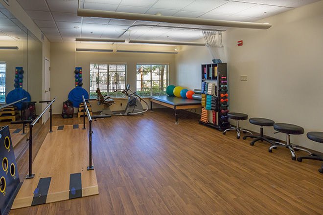 Brookdale San Juan Capistrano Skilled Nursing Therapy Room