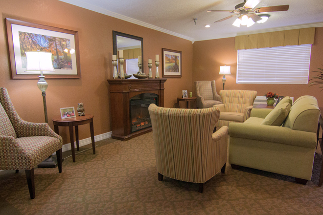 Brookdale San Marcos South  Community Living Room