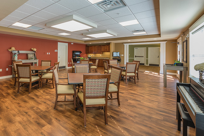 Brookdale Sandy Springs Memory Care Activity Room