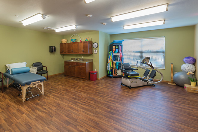 Brookdale Sandy Springs Assisted Living Therapy Room