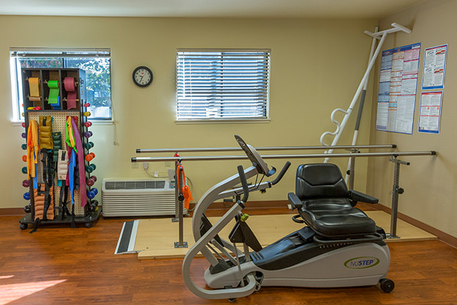 Brookdale Scotts Valley  Fitness Room