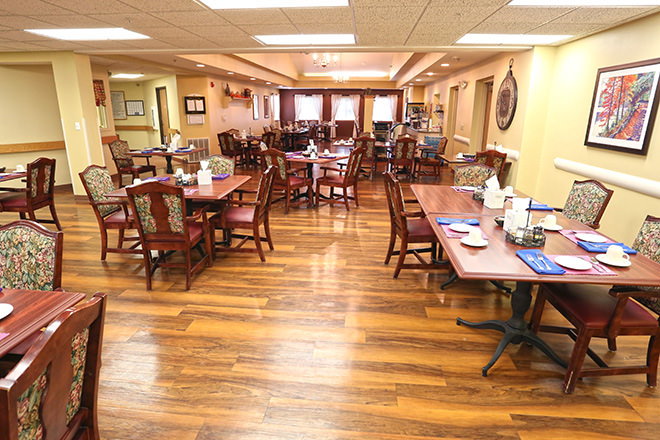 Brookdale Seward Heartland Park Dining Room